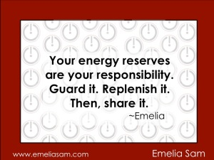 Reserve Your Energy