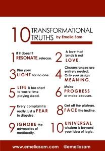 Transformational Truths