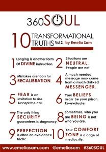 10 Transformational Truths Vol.2